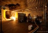 Newquay Oct 12 - the rocket ignites